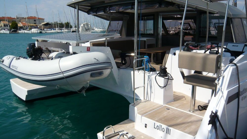 Hire Catamaran with or without skipper Bavaria Lefkada