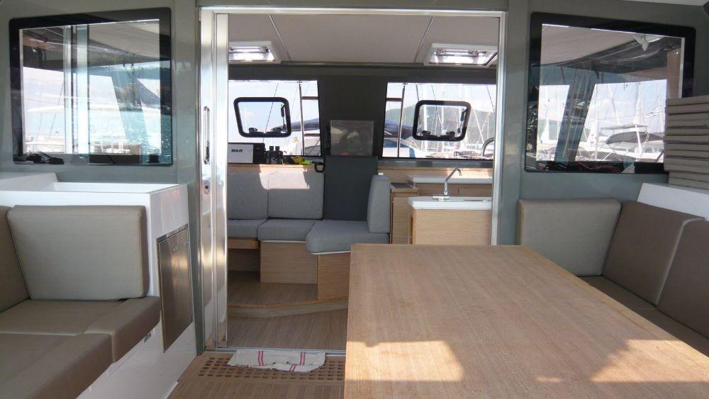 Rent a Bavaria Nautitech 40 open NEW - 4 + 2 cab. Lefkada