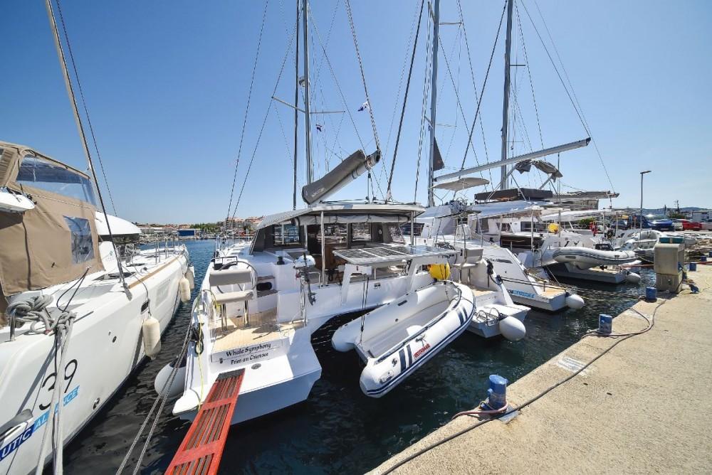 Catamaran for rent Croazia at the best price