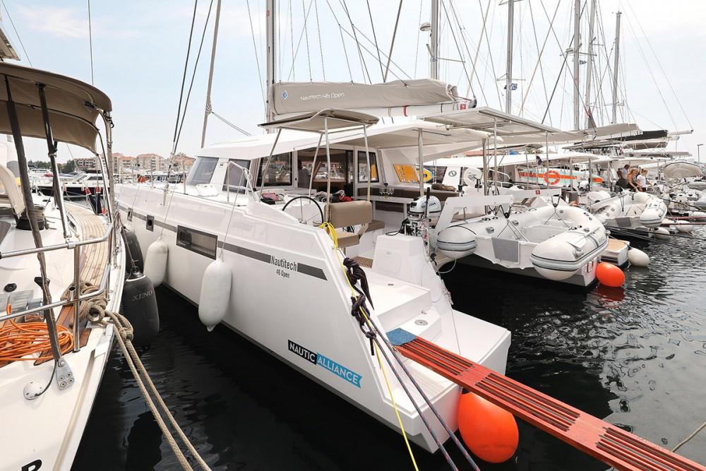 Boat rental Croatia cheap Nautitech 46