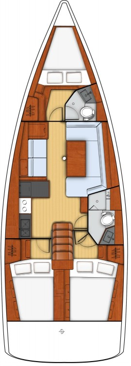 Bénéteau Oceanis 41 between personal and professional Bois D'orange