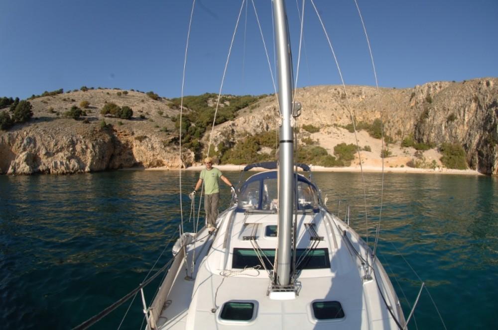 Boat rental Croatia cheap Oceanis 40
