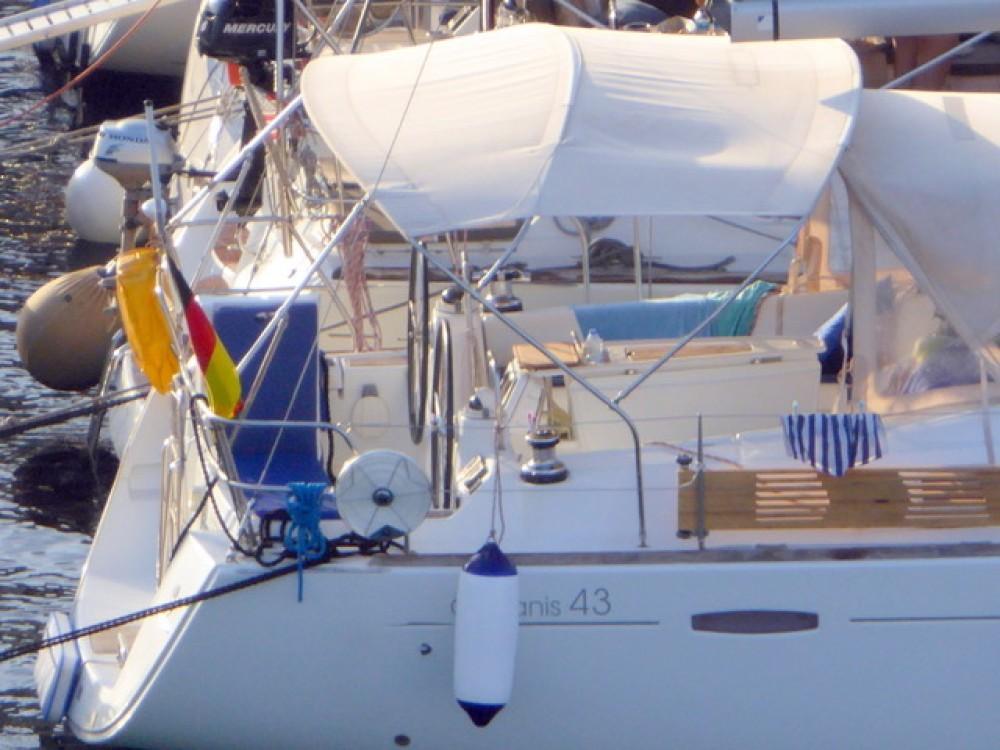 Boat rental Göcek cheap Oceanis 43
