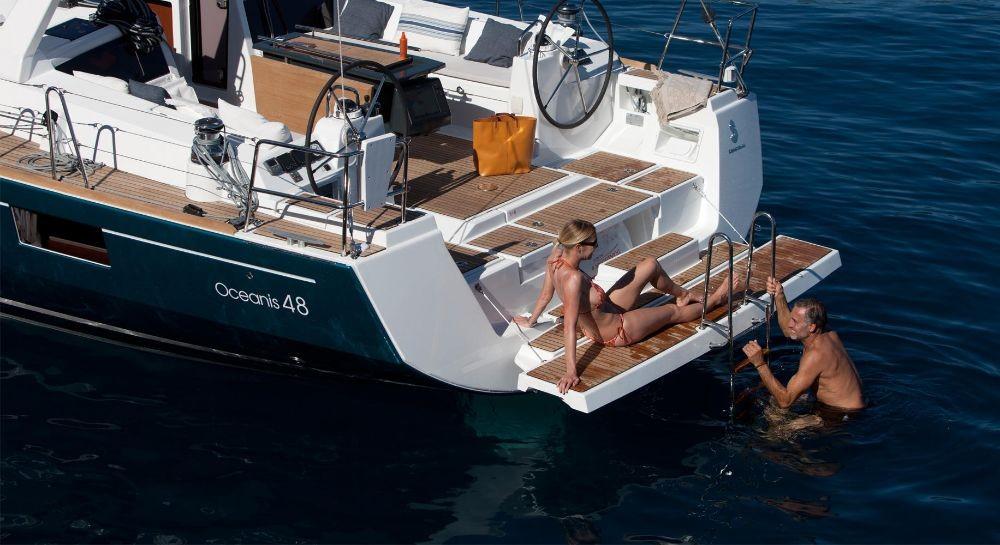Rental Sailboat in Grad Pula - Bénéteau Oceanis 48 - 5 cab.