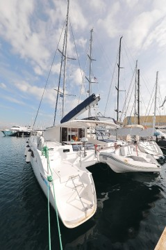 Fountaine Pajot Orana 44 between personal and professional Croatie