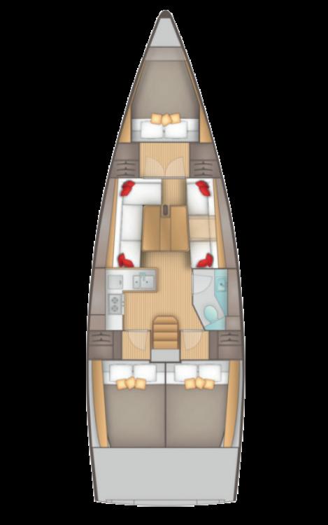 Boat rental Salona Salona 380 in Jezera on Samboat