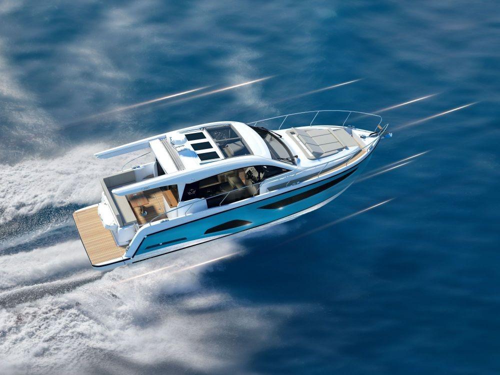 Boat rental Croatia cheap Sealine C390