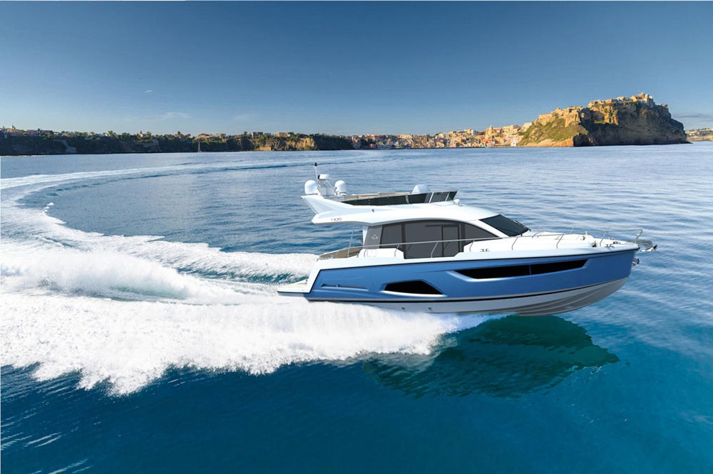 Boat rental Sealine Sealine F430 in Grad Pula on Samboat