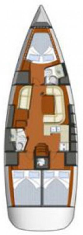 Boat rental Croatia cheap Sun Odyssey 42i