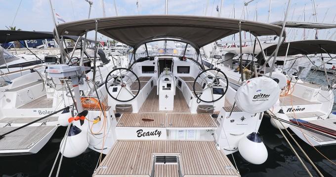 Boat rental Jeanneau Sun Odyssey 410 in Biograd na Moru on Samboat