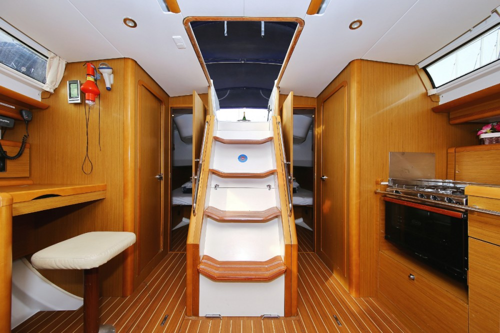 Jeanneau Sun Odyssey 44i between personal and professional Lefkada