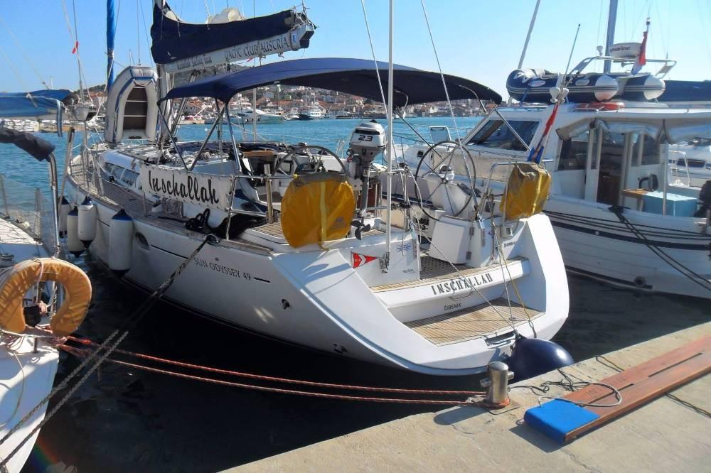 Rent a Jeanneau Sun Odyssey 49 Jezera