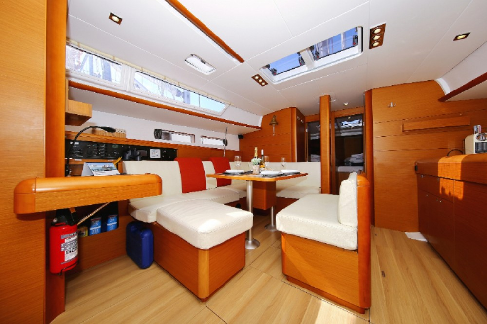 Jeanneau Sun Odyssey 469 between personal and professional Trogir