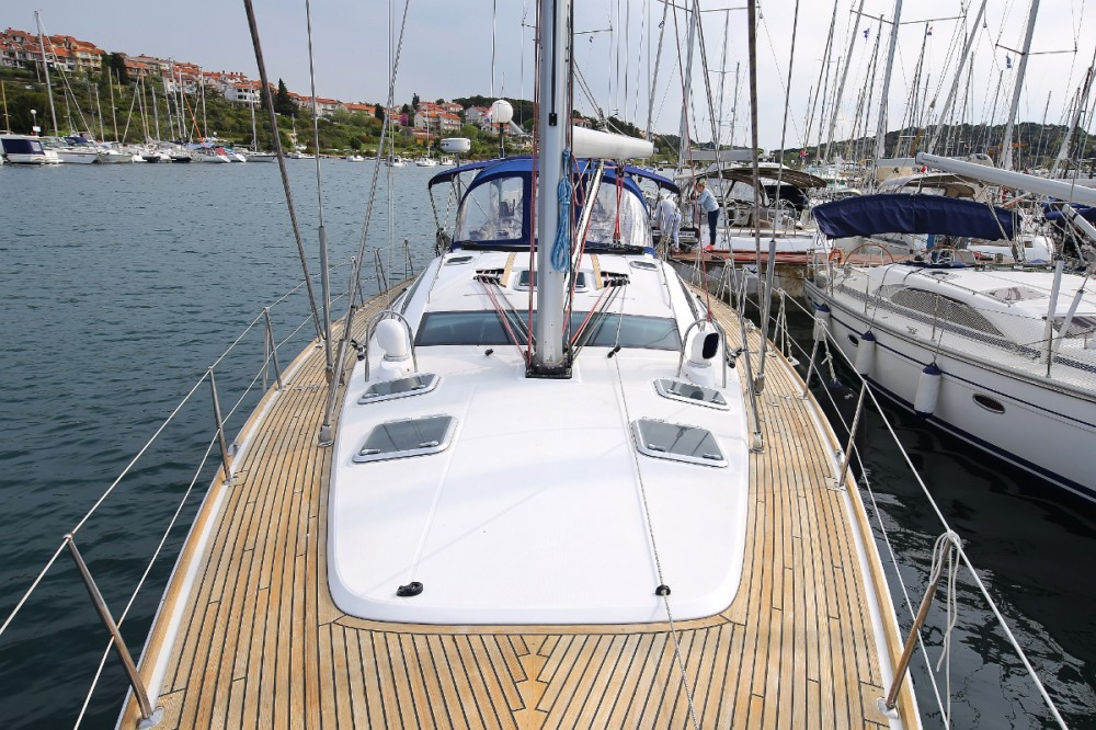 Boat rental Jeanneau Sun Odyssey 54 DS in Croatia on Samboat