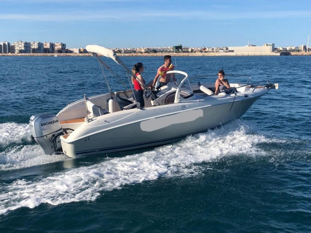 Boat rental Torrevieja cheap COMMANDER 600