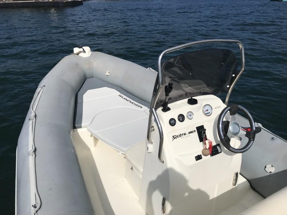 Bombard Sunrider 650 between personal and professional Lège-Cap-Ferret