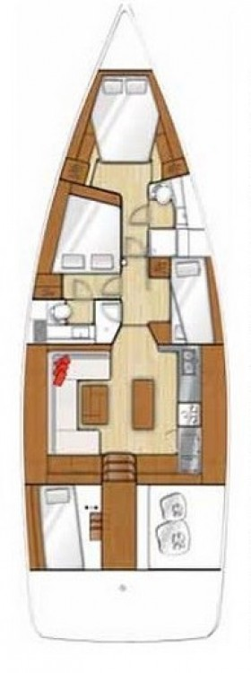 Rental yacht Peloponnese - Bénéteau Sense 50 on SamBoat