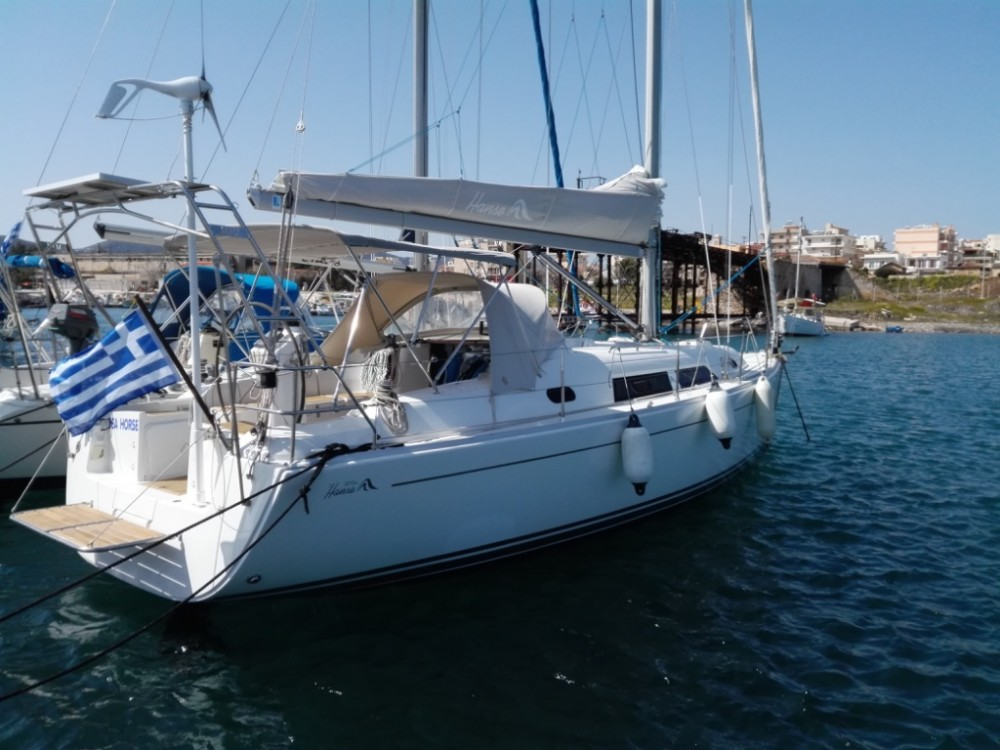 Rental Sailboat in Péloponnèse - Hanse Hanse 370