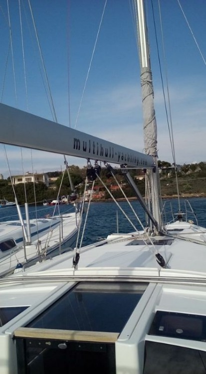 Boat rental Peloponnese cheap Hanse 385