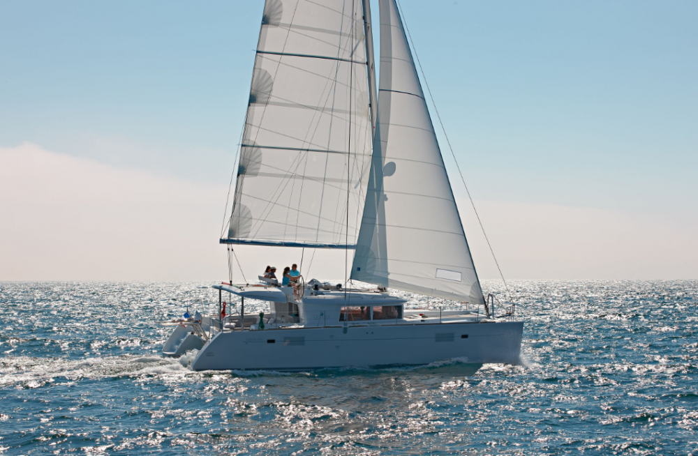 Rental yacht Peloponnese - Lagoon Lagoon 450 F - 4 + 2 cab. on SamBoat