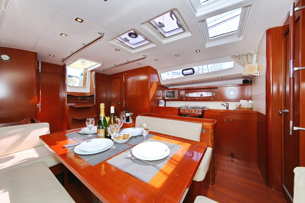 Rental Sailboat in Trogir - Bénéteau Oceanis 50 Family