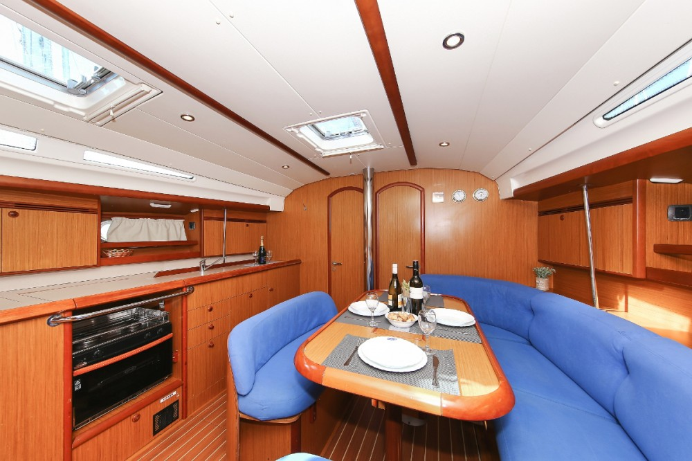 Jeanneau Sun Odyssey 45 between personal and professional Croatia
