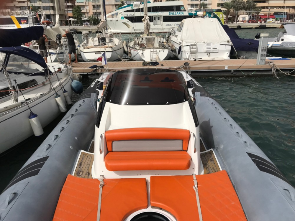 Hire Motorboat with or without skipper  Balearic Islands