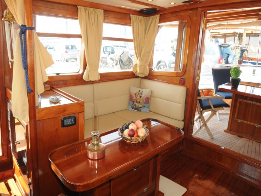 Boat rental Alimos Marina cheap Motor sailer