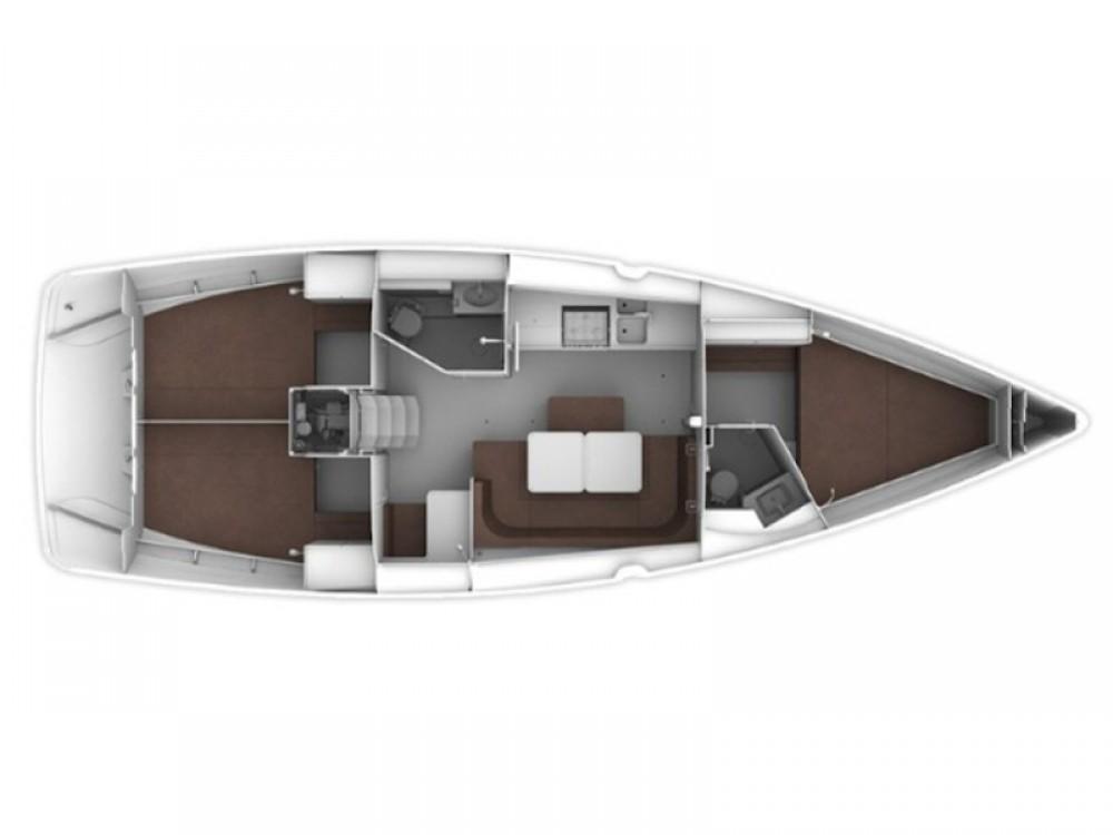 Rental yacht Lefkada - Bavaria Bavaria Cruiser 41 on SamBoat