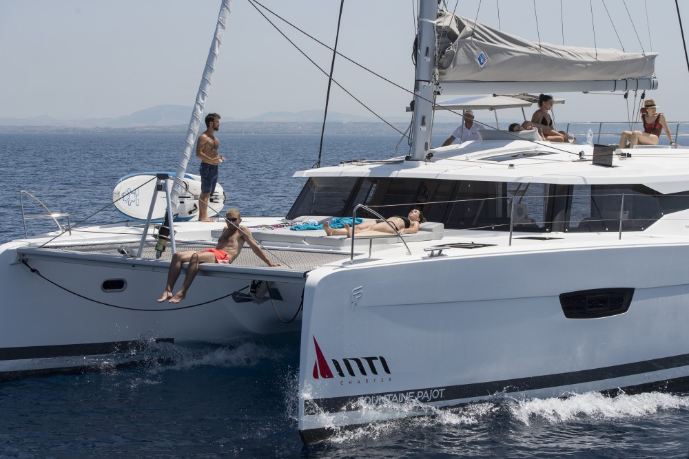 Hire Catamaran with or without skipper Fountaine Pajot Marsala Marina