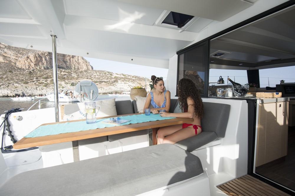 Rental Catamaran in Marsala - Fountaine Pajot Fountaine Pajot Saona 47