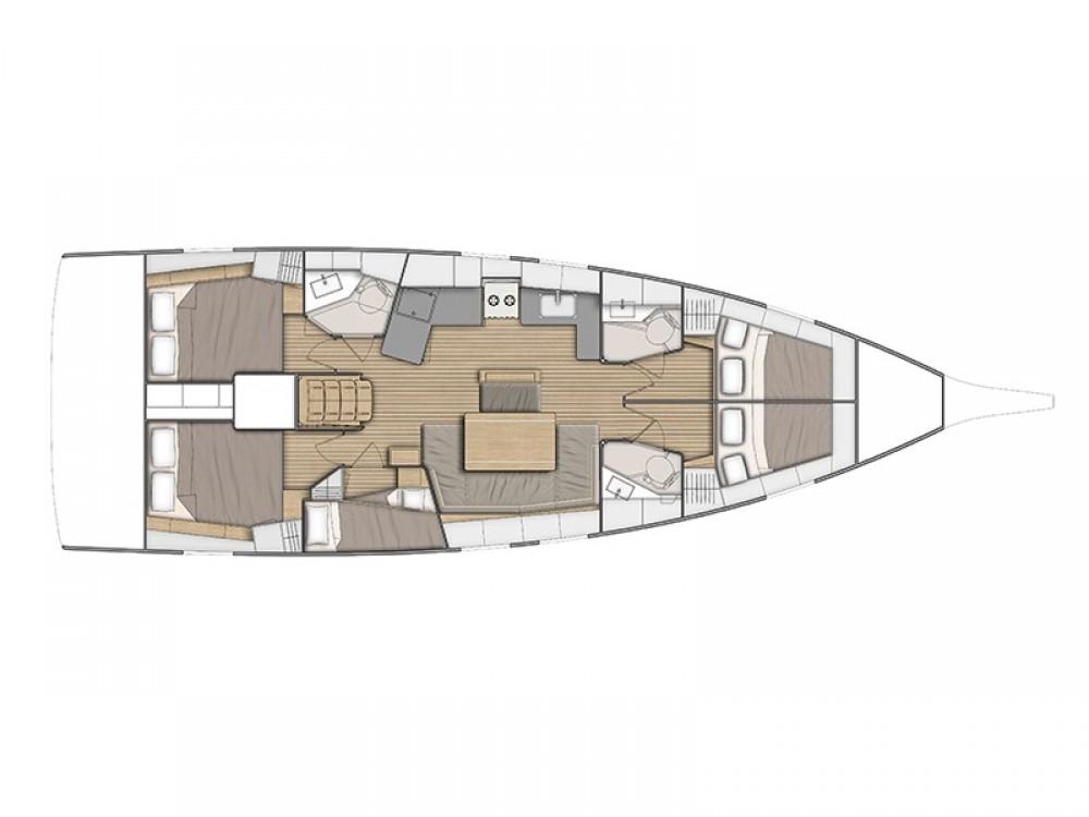 Rental Sailboat in Ibiza - Bénéteau Oceanis 46.1
