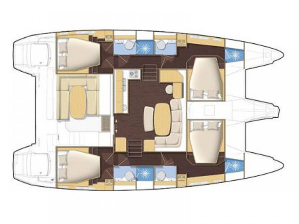 Boat rental Lagoon Lagoon 42 in Marina di Portisco on Samboat