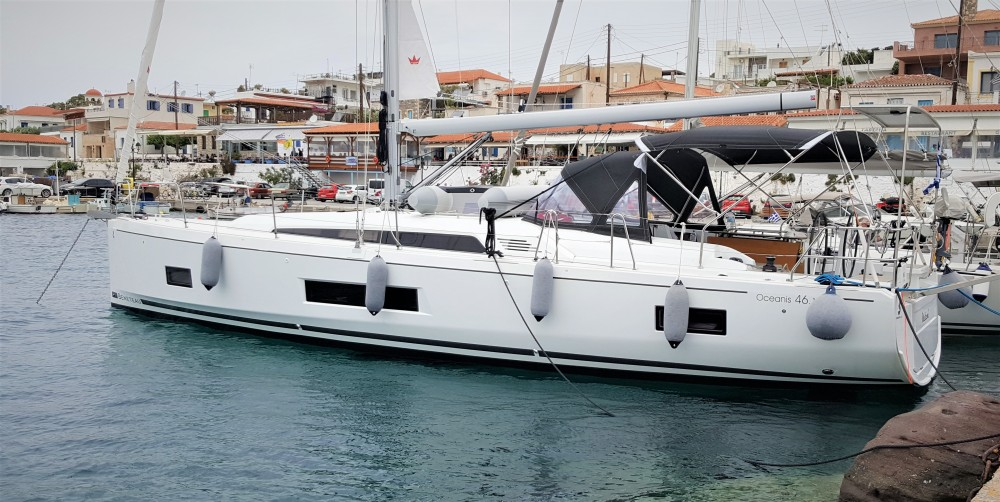 Bénéteau Oceanis 46.1 between personal and professional Alimos Marina