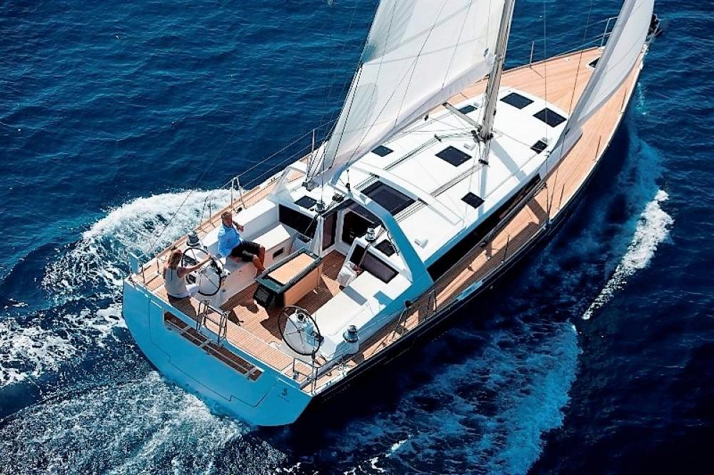 Boat rental Phuket cheap Oceanis 48