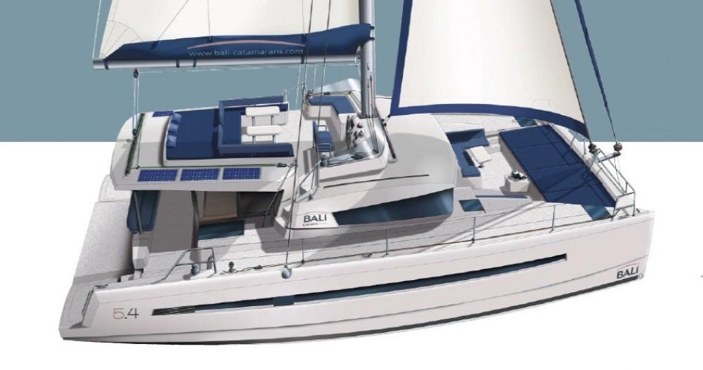 Rental Catamaran in Athens - Bali Catamarans Bali 5.4