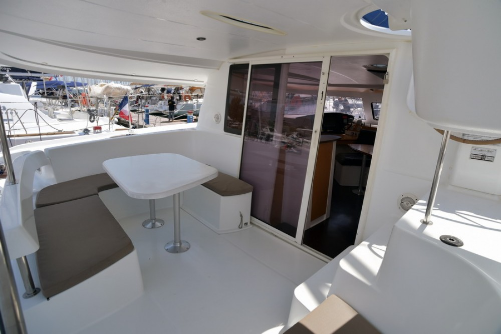 Fountaine Pajot Lipari 41 between personal and professional Athens