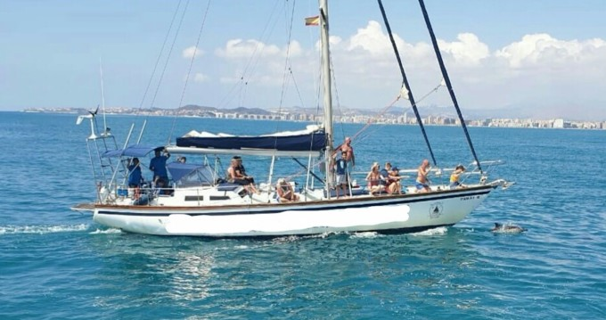 Rental Sailboat Thievent with a permit