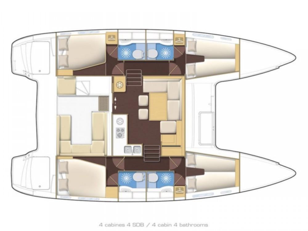 Rental yacht  - Lagoon Lagoon 400 S2 on SamBoat