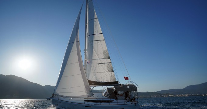 Jeanneau Sun Odyssey 389 between personal and professional Marmaris