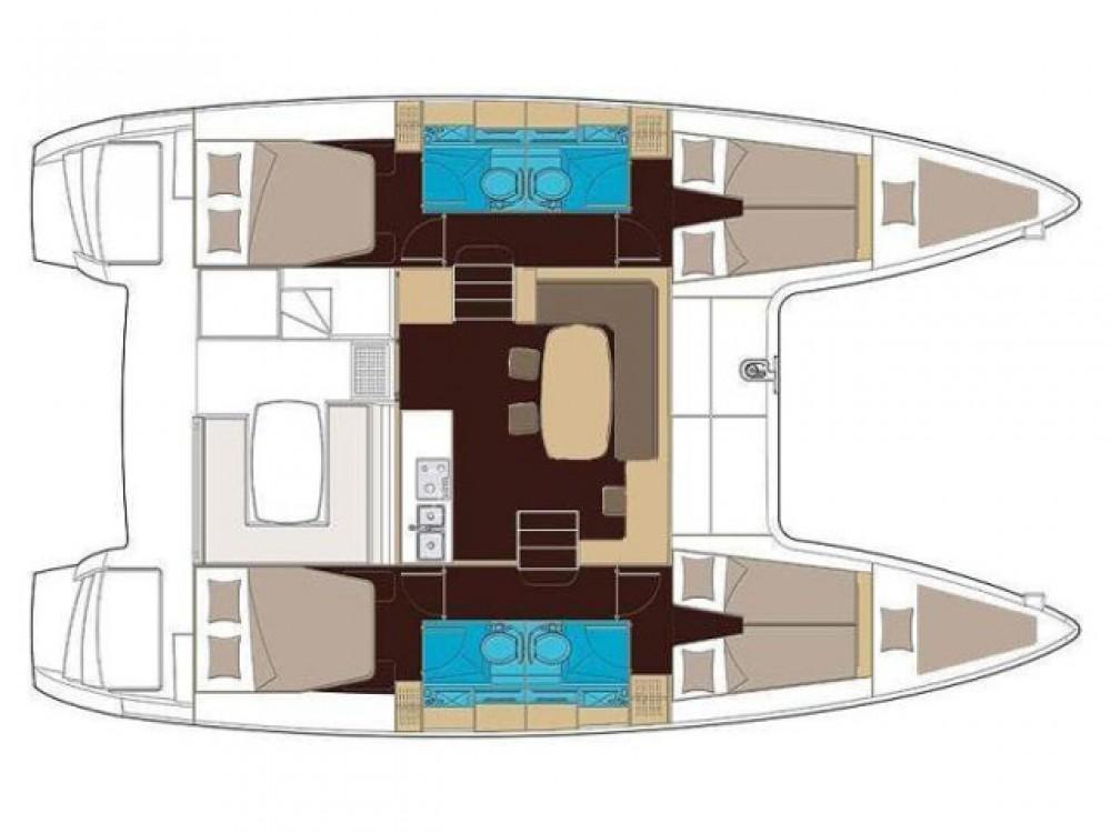 Rent a Lagoon Lagoon 400 S2 (2013)  Split