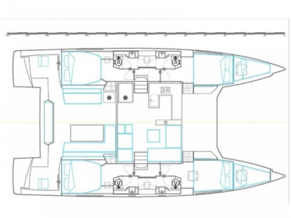 Boat rental Nautitech Nautitech 46 Fly in Olbia on Samboat