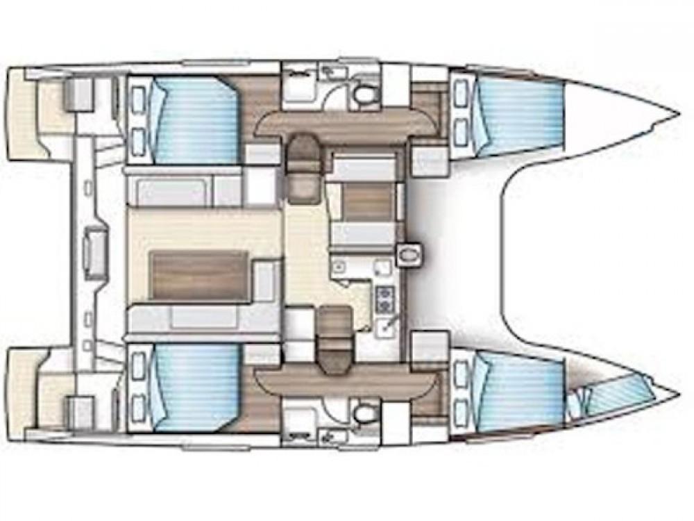 Hire Catamaran with or without skipper Nautitech Golfo Aranci