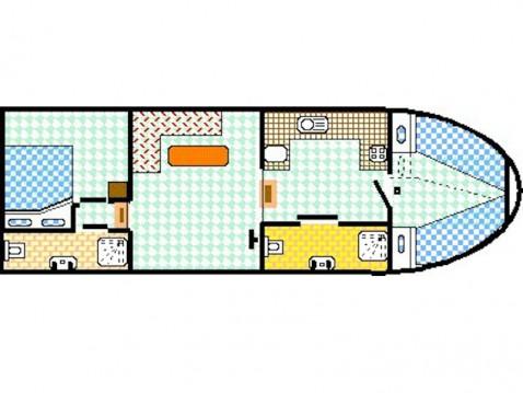 Rental yacht Vermenton - Viking Burgundy 1200 on SamBoat