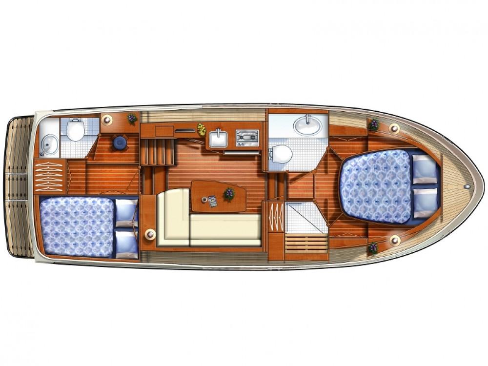 Rental yacht Vermenton - Linssen Linssen 30.9AC on SamBoat