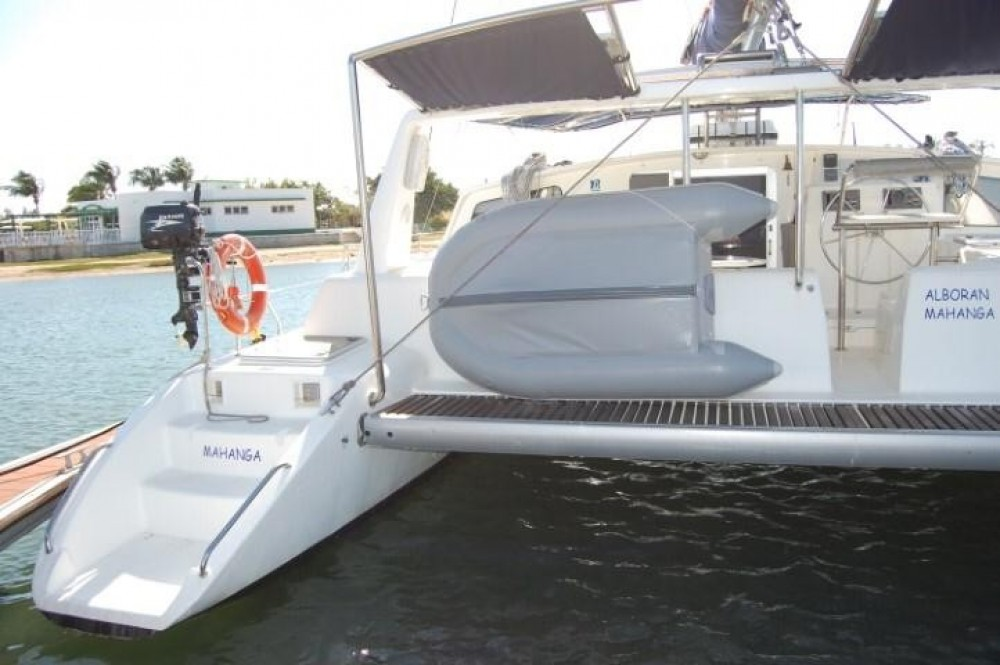 Rental Catamaran Voyage yachts with a permit