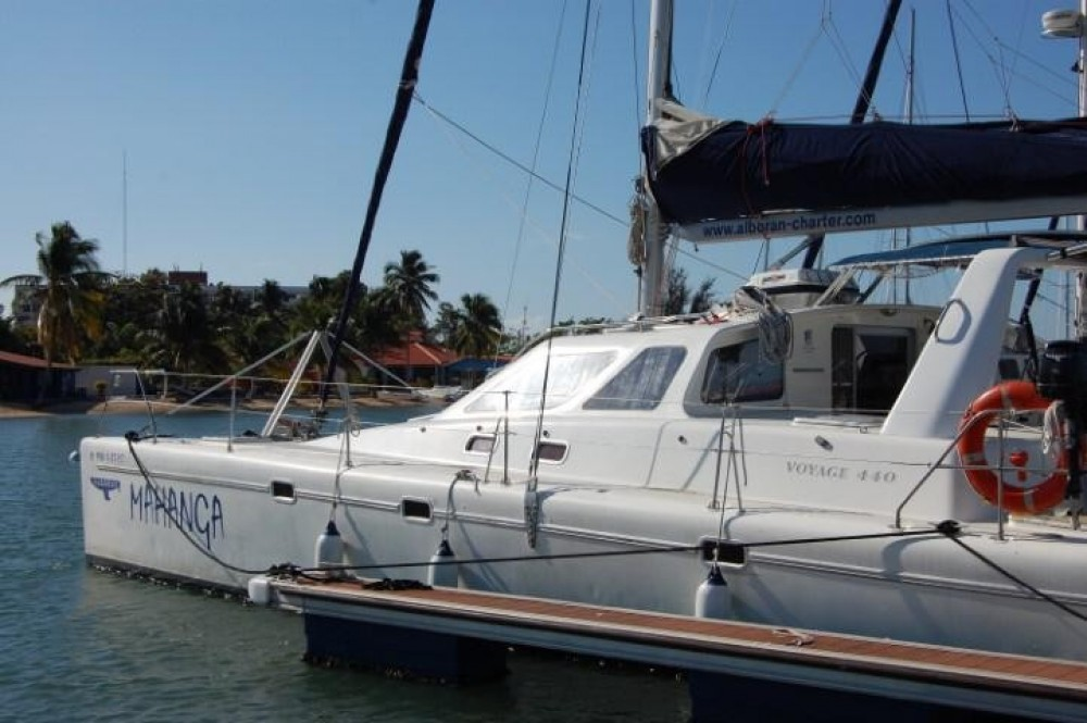 Hire Catamaran with or without skipper Voyage yachts Cienfuegos