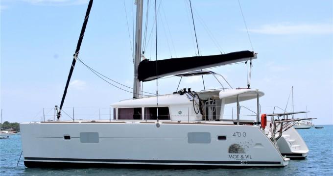 Rental yacht Le Gosier - Lagoon Lagoon 400 on SamBoat