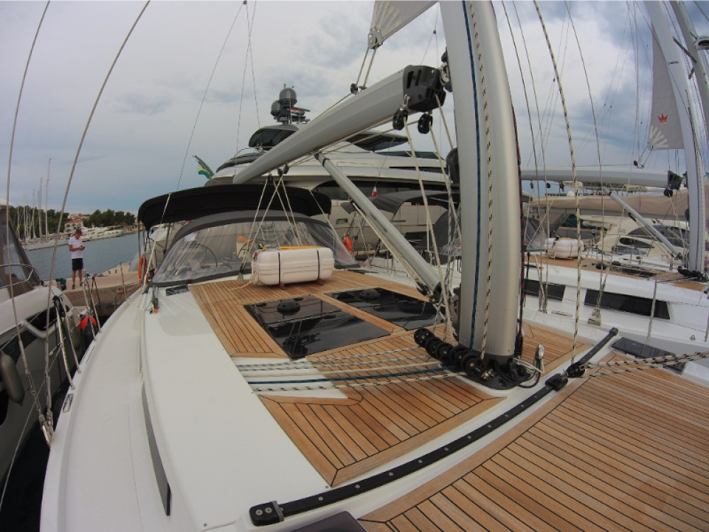 Rental yacht Rogoznica - Hanse Hanse 455 on SamBoat