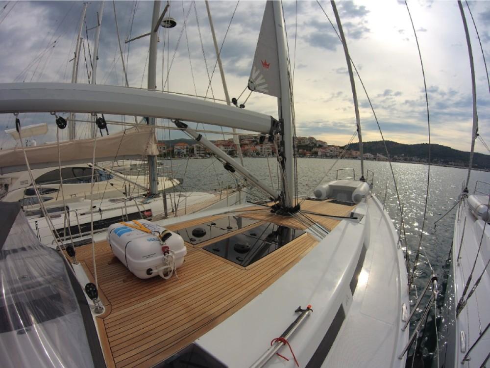 Boat rental Rogoznica cheap Hanse 455
